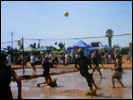 Mud Volley Ball